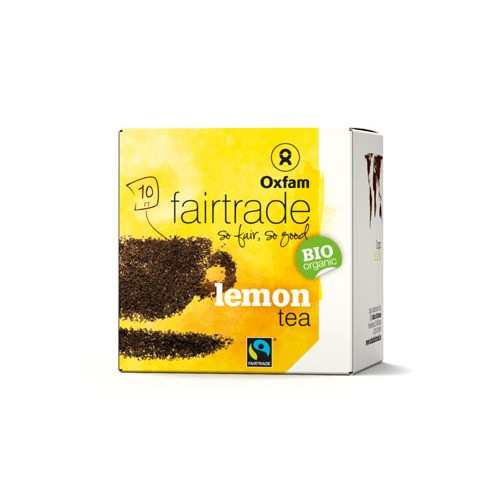 Thé noir bio citron 2g x 10